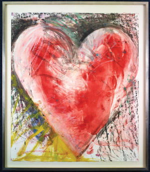Lipton-Fine-Arts-Jim-Dine-'Heart'