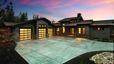 Todd Arenson Construction-built home constructed with both contemporary and reclaimed materials
