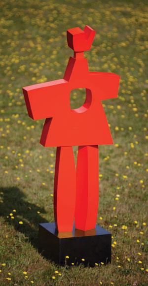 """Rosemerta"" by Julie Speidel. Bronze at Gail Severn Gallery"