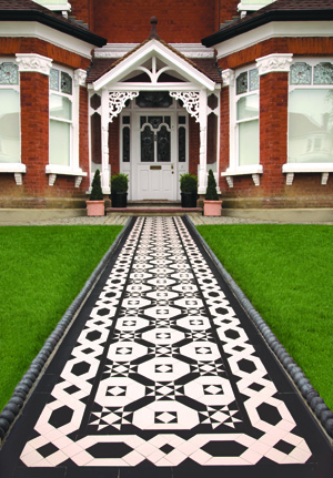 Victorian floors Westminster pattern with Eliot border